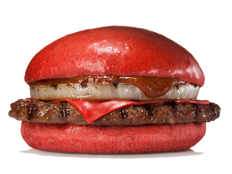 red burger